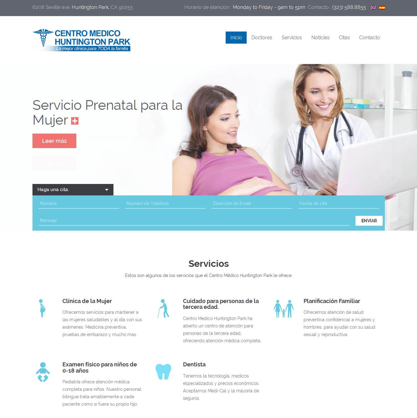 Centro medico Huntington Park